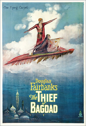'The Thief of Bagdad' poster