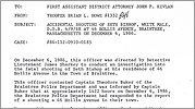 Police report on Amy Bishop