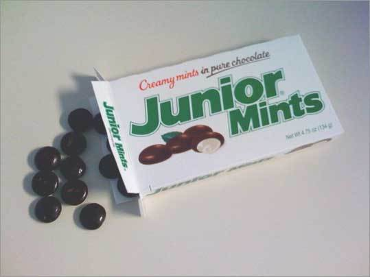 Junior Mints Originally made by a Cambridge company, the Junior Mints line was sold to Illinois-based Tootsie in 1993. But the Cambridge plant owned by Cambridge Brands is still up and running and produces 15-million mints every day.