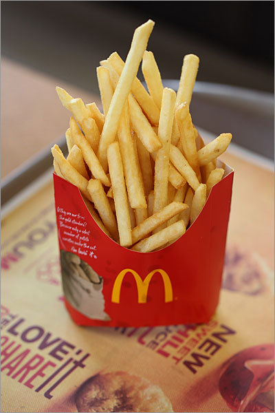 French Fries at McDonald's McDonald's' strongest item, and its icon, continues to be its french fries. When the company moved to trans-fat-free cooking oil in 2008, it assured consumers that the taste, smell, and texture of the fries would be as delicious as before. It succeeded. Not only are the fries perfect in texture (crisp outside, tender and flaky inside), appearance (firm, slightly brown corners), and taste (truly potato-y, not just fried), they live up to our memory of what great fries should be.