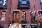 The Beacon Hill row house