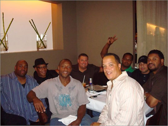 Mike Langston, Tony Lockley, Greg Jean, Derek Conrad, Trent Headley , Jerrod Henry, Mike Nunes and Greg Nau