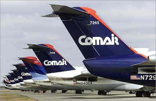 3. Comair Based in: Cincinnati Flights into Logan in 2009: 8,477 Percent on time: 71.1 Average delay: 53 minutes