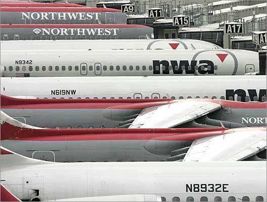 2. Northwest Airlines Based in: Minneapolis (merged with Delta) Flights into Logan in 2009: 3,820 Percent on time: 70.6 Average delay: 48 minutes