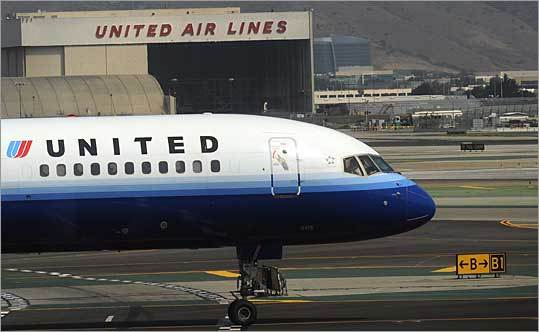 12. United Airlines Based in: Chicago Flights into Logan in 2009: 8,882 Percent on time: 79.3 Average delay: 55 minutes