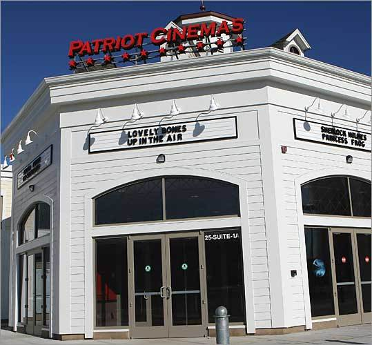 The Patriot Cinemas Location: Hingham Tax breaks: Potentially $108,000 in state taxes The state tentatively awarded a tax break to The Patriot Cinemas for its six-screen movie theater in the Hingham shipyard in December. The 5 percent investment tax credit is potentially worth nearly $108,000, based on the company's plans to invest $2.1 million in the site. The movie theater had already been open for months, but promised to add one full-time job and retain six more.