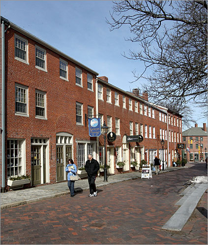 Newburyport This city north of Boston made a pitch of its own, with a website dedicated to getting Google Fiber in Newburyport, along with a blog, Facebook group, and Twitter account. Pictured: The Inn St. Mall in Newburyport