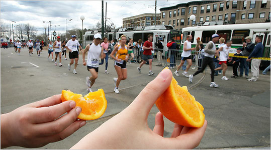 Training for marathon runners