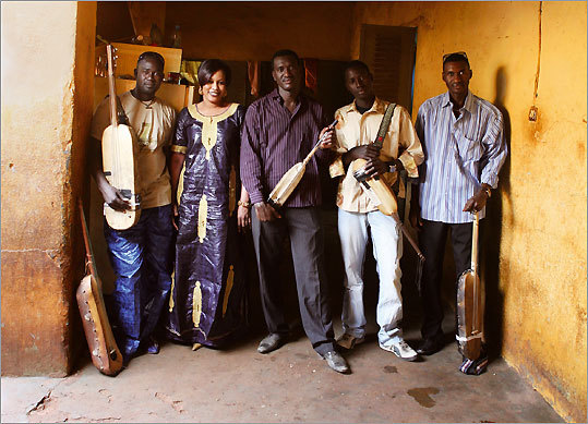 Bassekou Kouyate & Ngoni Ba are on a 47-city tour that stops at Somerville Theatre.