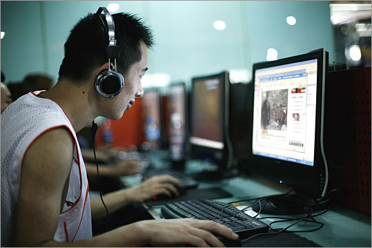YouTube, Facebook and Twitter China blocked YouTube in March 2009 after a video showed security forces beating Tibetan protesters. It blocked Facebook and Twitter in July 2009 in advance of the 20th anniversary of the Tiananmen Square crackdown. All three sites have been blocked on and off since. None are currently available in China.