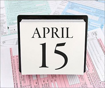 By Kay Bell | Bankrate.com 10. Missing the deadline If the impending April 15 tax deadline is a problem for you, make sure you buy yourself six extra months by simply asking the IRS for more time to complete your tax paperwork. All you have to do is submit Form 4868 , Application for Automatic Extension of Time to File US Individual Income Tax Return, by the regular filing deadline. Remember, though, that the extension is only for the forms; you still have to pay any tax you may owe by April 15. If you make the mistake of not filing or paying on time, you'll end up facing even more costs in late-filing penalties and interest fees.