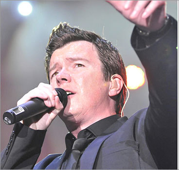 Rickrolling YouTube, 2008 The video sharing site redirected every video on its home page to the same clip of pop singer Rick Astley's 'Never Gonna Give You Up,' The Washington Post reported. The prank was in homage to a Web practice of planting fake links that lead to the same video, considered funny by pranksters because of its over-the-top '80s vibe and dance moves.