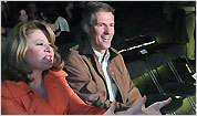 Scott Brown and wife Gail Huff