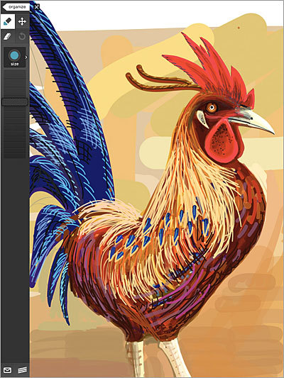Adobe Ideas Price: free Graphic artists see potential for the iPad to be a digital sketchpad, and this free app seeks to fill that niche. It offers simple sketch capabilities, and lets users export their work to Photoshop or or Illustrator in PDF format.
