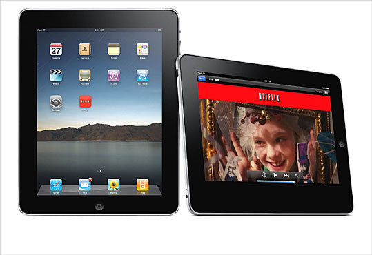 Netflix Price: Free (subscription required) One of the most anticipated iPad apps lets Netflix subscribers stream movies and TV shows onto the device, turning the iPad into a portable video library. To watch videos, you need a Netflix membership, starting at $8.99 per month.