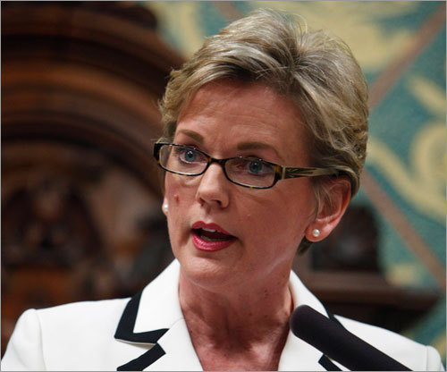 Last year, Jennifer Granholm, Michigan's governor, was also named as a possible successor. Granholm cannot seek re-election because of term limits and is the state's former attorney general. Born in Canada, Granholm is also a Harvard Law graduate.