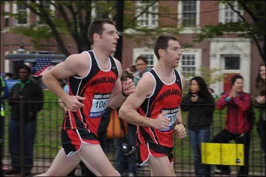 'Twin Runners' (Photo by Yugo Nakai of Cambridge)
