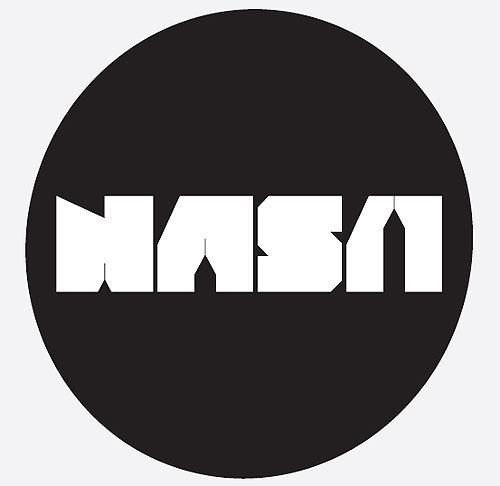 nasa emblem black and white - photo #15