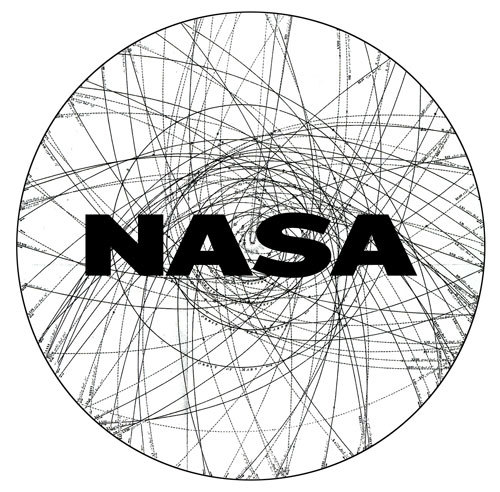 "Jessica Helfand of Winterhouse in Connecticut went even further into the past. Her NASA logo is built of a whirling tracery of curving lines, taken from the astronomer Johann Elert Bode's 1802 Projection on the Plane of the Ecliptic of the Parabolic Orbits of 72 Comets. ""It seemed natural, when I found that image from the early 19th century (that LOOKED like it could have come from the 21st), to try to use it as the core symbol,"" Helfand wrote. ""I also liked the energy of the line — it seems to convey a human element that is generally missing from contemporary, overly digitized, too polished logos."" The NASA name is in Akzidenz Grotesk. ""The font was designed in 1898,"" Helfand wrote, ""the same year HG Wells published 'War of the Worlds,' which inspired a then-16-year-old Robert Goddard to investigate liquid-fueled rocketry."" The future has a history."