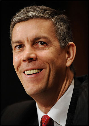 US Secretary of Education Arne Duncan will deliver the commencement address at Lesley University on May 19. Lesley will confer degrees upon 3,000 graduates, two-thirds with degrees in education.