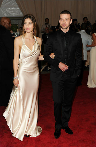 Actress Jessica Biel and singer Justin Timberlake