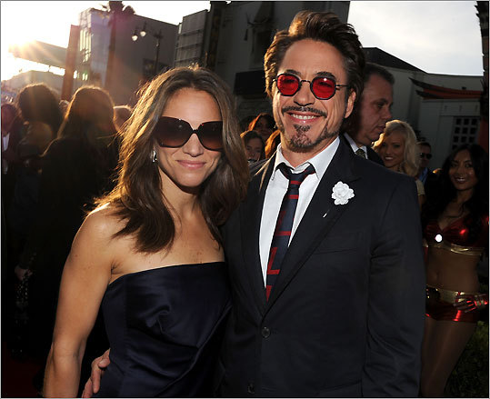 Susan and Robert Downey Jr.