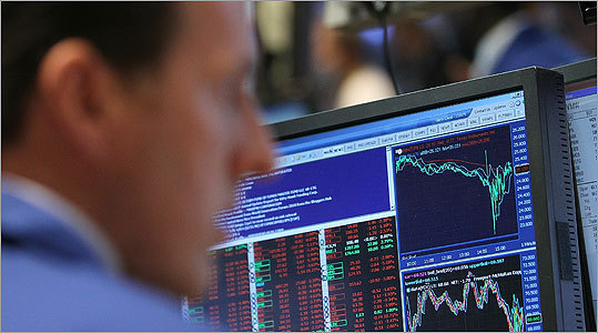 The Dow has lost 631 points, or 5.7 percent, in three days amid worries about Greece.