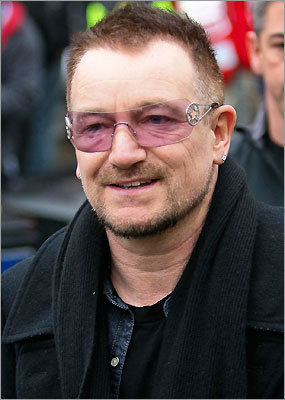 Bono of U2