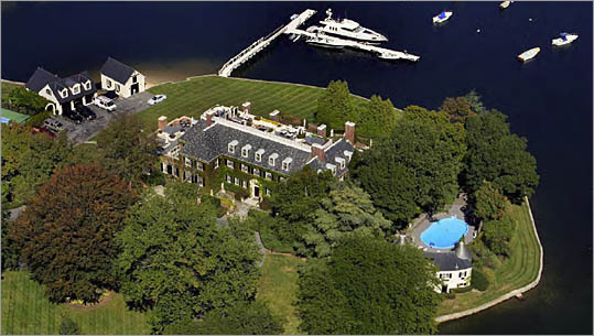 Dow Jones mansion on sale