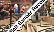 Belt sander racing