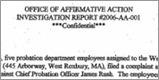 Investigation into reports of discrimination