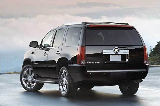Enough oil to... ...refine into gasoline that fills that tanks of more than 2.5 million Cadillac Escalades.