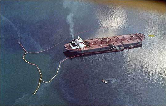 Enough oil to... ...surpass the 1989 Exxon Valdez oil spill, which dumped 10.8 million gallons off the coast of Alaska in the worst spill in US history, around seventeen times over.