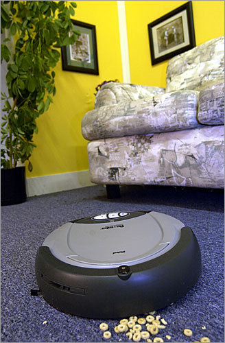 2002 iRobot Corp. introduces the Roomba FloorVac , an autonomous home vacuum cleaner.