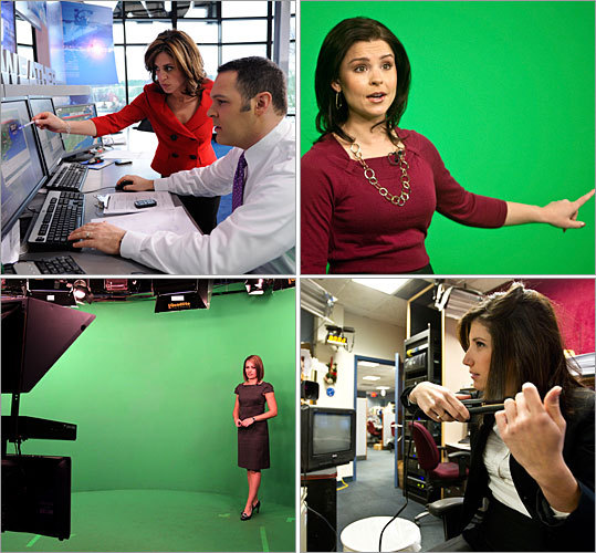the female meteorologists of boston tv