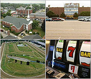 Proposed Mass. sites for casinos, slots