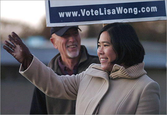"Lisa Wong First Asian-American mayor At 28 years old, Wong was elected the first Asian-American mayor in Massachusetts in 2008. She is the first mayor of color in Fitchburg, where more than half of public school children are members of ethnic minority groups. 'It's about time,"" she told a Globe reporter after the election. ""Fitchburg has always been a diverse city"