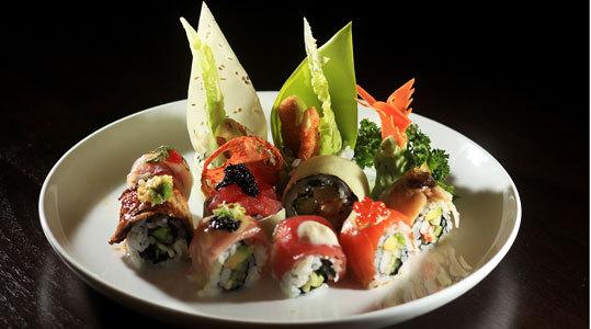 The Basho roll at Basho Japanese Brasserie