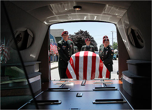 Fall River has paid its final respects to a local man killed in Afghanistan, the AP reported today. A funeral Mass for Army Spc. Scott Andrews was held today at Holy Name Church.