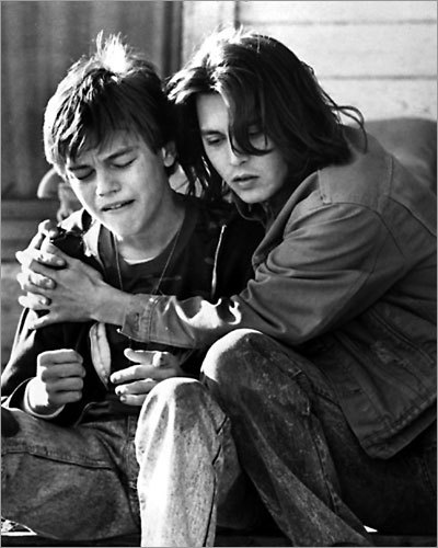 Johnny Depp and Leonardo DiCaprio in 'What's Eating Gilbert Grape?'