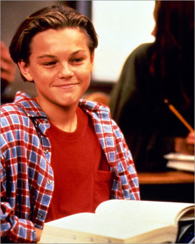 As a young child, DiCaprio made his first television appearance as Luke on the last season of the ABC series 'Growing Pains.'