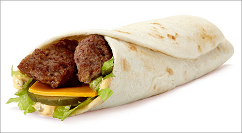 McDonald's Ranch, Honey Mustard, Chipotle BBQ and Mac Snack Wraps Calories: 260-340 Calories from fat: 80-170 Sodium (mg): 690-830 Sugars (g): 2-5 Pictured at right: the Mac Snack Wrap