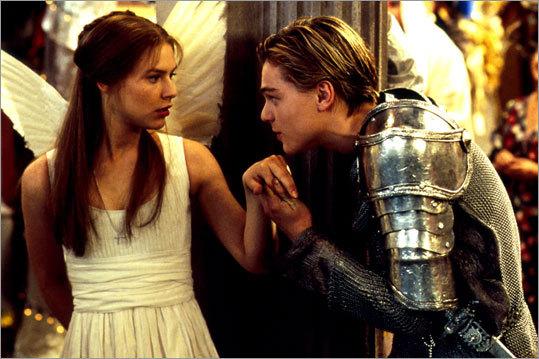 Leonardo DiCaprio in 'Romeo and Juliet'