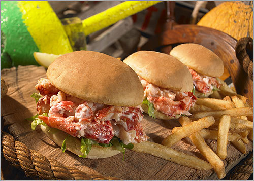 Uno Chicago Grill Lobster, Burger and BBQ Short Rib Sliders Calories: 220-600 Calories from fact: 100-360 Sodium (mg): 450-860 Sugars (g): 1-10 Right: Lobster Slider Price: $9.99-$18.49