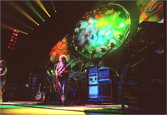 Give, and you shall receive The Grateful Dead removed barriers to their music by allowing fans to tape concerts for free. That brought in new fans and grew sales for concerts, records, and merchandise. They showed that when content is free, more people hear about a company and eventually do business with it. Pictured: Jerry Garcia performs as at a Grateful Dead concert in 1994.