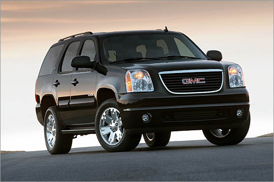 8. GMC Yukon Theft odds: 1 in 175 Avg. payout per claim: $9,499 Base price: $35,970