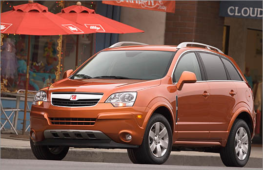 Least likely to be stolen Saturn Vue (1 in 1,667) Saturn Vue AWD (1 in 1,429) Nissan Murano (1 in 1,429) Honda Pilot 4WD (1 in 1,250) Mini Cooper (1 in 1,250) Volvo S80 (1 in 1,250) Toyota Prius (1 in 1,250) Toyota Sienna (1 in 1,250) Subaru Impreza (1 in 1,111) Toyota Tacoma double 4WD (1 in 357) Average theft odds for all passenger cars: 1 in 476