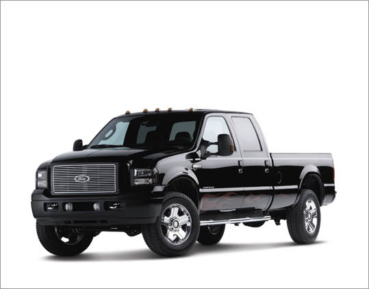 2. Ford F-250 Crew Cab 4WD Theft odds: 1 in 103 Avg. payout per claim: $9,636 Base price: $34,290