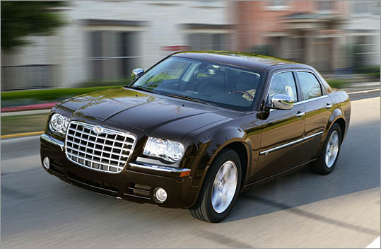 6. Chrysler 300 Theft odds: 1 in 141 Average payout per claim: $5,509 Base price: $25,995 (2010 model pictured)