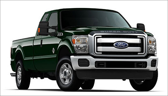 7. Ford F-350 Crew Cab 4WD Theft odds: 1 in 143 Average payout per claim: $9,088 Base price: $37,410